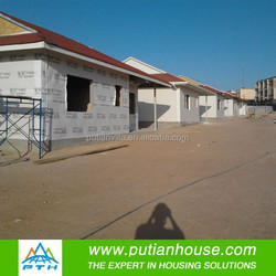 Modern modular light steel china prefabricated residential house