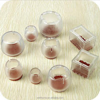 Transparent Silicone Protective Floor Furniture Feet cover