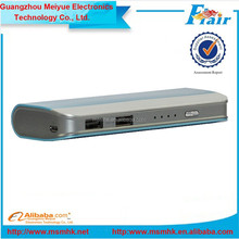 Slim and portable power bank!Good partner of most mobile phone and USB devices!Provide free power bank on a real customer base!