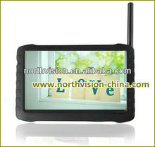 New Design Wireless security Cameras system with 5.8G 5.0inch monitor wireless dvr