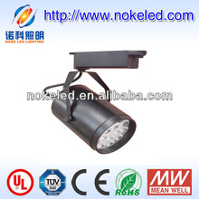 2013 hot selling 18x1W cree chip color changing led track lighting CE, RoHS, SAA approved