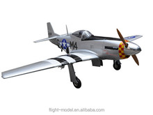 """Scale rc model P-51 Mustang 96"""" 80-100CC F0071 airplane toy"""