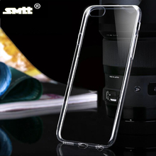 protective transparent clear TPU cell phone case cover for Iphone6/6s
