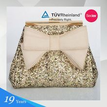 Glitter+Fabric Oval Manufacturer Brands Wholesale Lady Handbag Ladies Handbag Tote