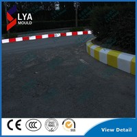 led light plastic curb stone road side pavement led Pavement Curbs led parking curb stone