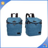 2015 Men Women Vintage Army Canvas Backpack Rucksack School Satchel Travel Hiking Bag