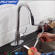 Jiangmen Flyway High Quality Single Lever sensor Kitchen Sink Faucet