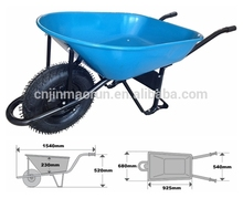 Concrete Buggy,Construction Wheelbarrow, Truper WB4682