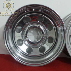 High quality PCD 165.1mm 15x8 4x4 wheel, off-road car usage