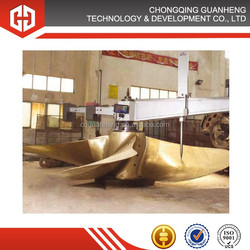large stainless steel ship propeller for sale