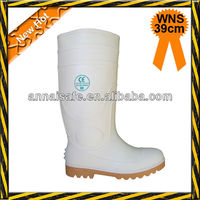 White color food industry or chemicial footwear woth steel toe