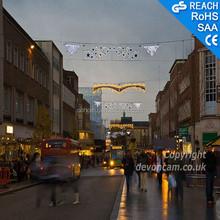 Outdoor LED Street Light decoration holiday across street LED Motif Lights