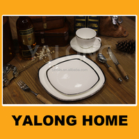 Bone China Square Plate Dinner Sets Table Ware Arcopal Dinner Plates
