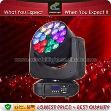 Rotating Flower Effect Stage Light & RGBW color mixing 18 eyes