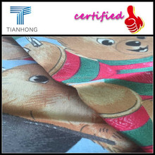 Teddy bear pattern printed fabrics/free samples carriage forward/2015 the latest printing design