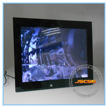 15Inch LED digital photo frame player support most video formats with motion senser