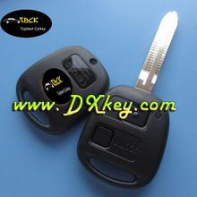 2 buttons car keys use for T-oyota land cruiser prado smart key toyota prado key 433 mhz 4d67chip