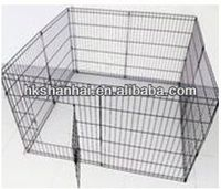 Indoor or Outdoor square tube steel dog cage