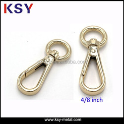 High end Gold Metal Swivel Clasps