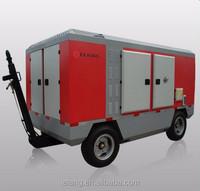diesel portable air compressor for sandblasting