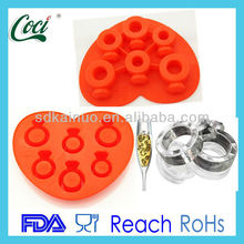 creative design with ring shape ice cube tray