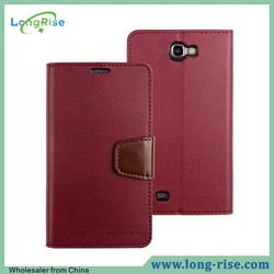 Mercury Goospery Sonata Diary Wallet Flip Leather Case for Samsung Galaxy Note 2