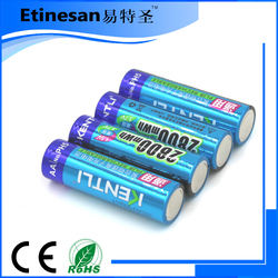 Chinese 2800mWh 1.5V AA rechargeable battery , deep cycle battery , lithium battery