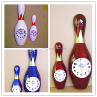 all color of bowling Pin clock(38cm) Pin clock(60cm)
