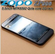 5.5 inch Android 4.2 MTK6592 Octa Core 1.7GHz 2GB RAM 16GB ROM FHD Gorilla Glass ZOPO ZP998 998 Dual SIM Smartphone