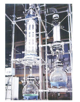 Lab Used Scrapped Film Evaporator for Distillation