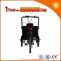 electric bike use to load cargo cargo bike for street selling
