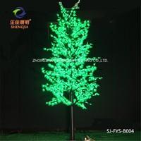 Waterproof maple leaf christmas euphorbia cactus led copper fairy lights 5m