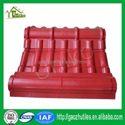 Hot product asa material plastic spanish roof tile foshan In China