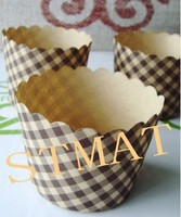 wholesale custom round shape baking cups muffin paper cups for cake