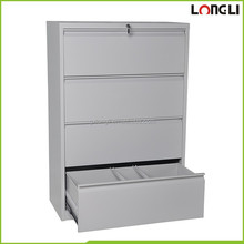 Office lateral 2/3/4 drawer steel filing cabinet