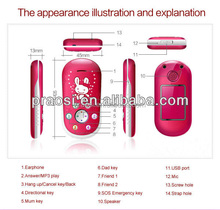 fancy mobile phone GPS +GSM, smart sos button child telephone mobile