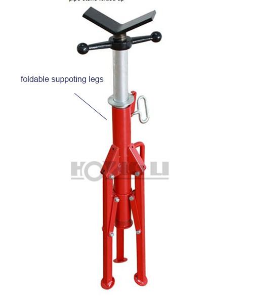 Aluminio 1107 v head pipe soporte/soporte de tubo ajustable