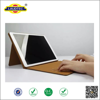 "high quality Stand Leather Case with wireless Keyboard for Ipad Pro 12.9"" -----Laudtec"