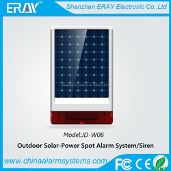 wireless gsm security solar panels for industrial use with 433/315mhz
