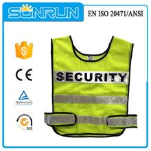 Made in China alta calidad de diseño de uniforme de guardia de seguridad