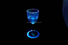 LED Bottle drink Cup Coasters Light For Clubs Bars Party
