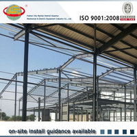 Acceptable costing construction design light structural steel warehouse