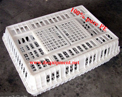 100% pure PE material folding plastic poultry transport stackable cage /box/crates