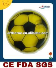 Artborne Football Shaped Mental Disc Heat Pad13x13cm/hot selling products for 2012(Manufacturer with CE/FDA/SGS/MSDS/ISO13485)