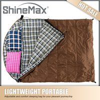 Camping equipment supplying cheap sleeping bag for warm weather