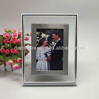 Aluminum add glass hot sex nude girl clip photo frame