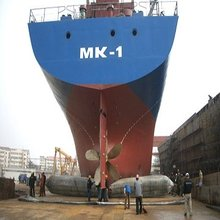 launching ship airbag for ship salvage , repair , using 3L# rubber from tailand
