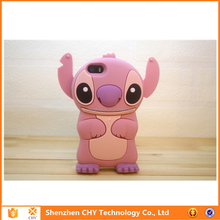 mobile accossries stitch silicone rubber soft phone case for samsung galaxy mini s5570