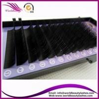 Hot sale!!! korea PBT fiber all curl 0.10-0.30 7-17mm faux mink eyelash extension