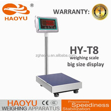 TCS electronic platform weighing scale 500kg